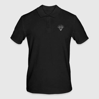 Jewelry Diamond Brilliant Jewelry Style - Men's Polo Shirt