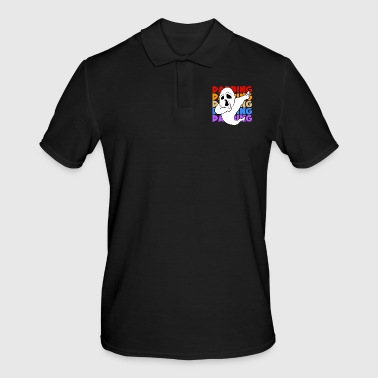 Retro Vintage Halloween Dabbing Dab Ghost Ghost - Men's Polo Shirt
