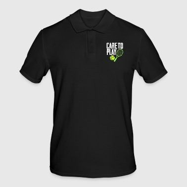 Gym Care to play - Men's Polo Shirt