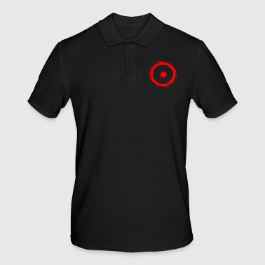 Element Alchemy symbol sun (gold) red - Men's Polo Shirt