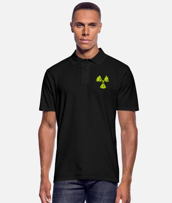 Chernobyl Polo Shirts - against nuclear power - Men's Polo Shirt black