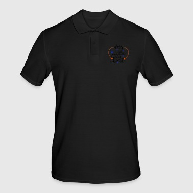dogs leave paw prints - Men's Polo Shirt