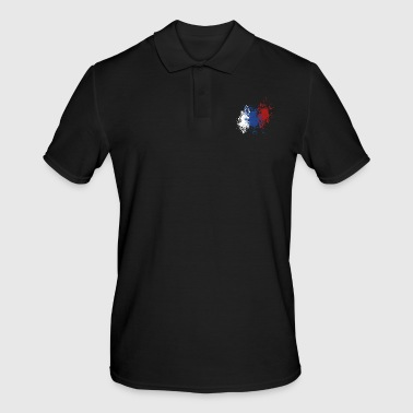 splatter russia - Men's Polo Shirt