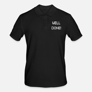 Physio Well done - Männer Poloshirt