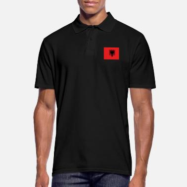 Bandera Flag of Albania - Polo Homme