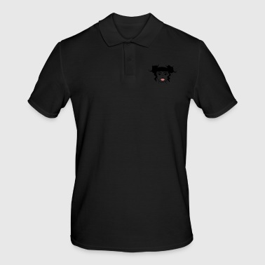 Pretty Portrait - Men's Polo Shirt