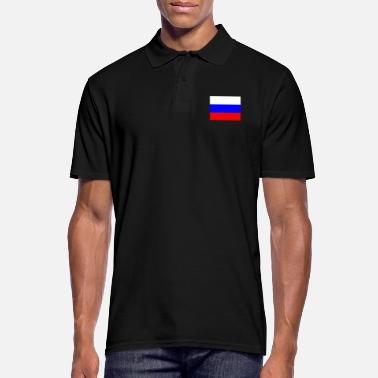 Russian Russian flag - Men's Polo Shirt