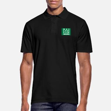 Marriage buy less fuck more 2 - Men's Polo Shirt