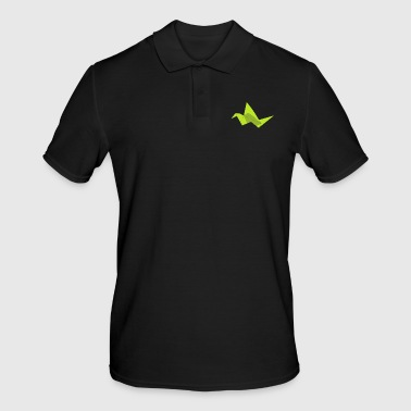 origami paper plane paper airplane47 - Men's Polo Shirt