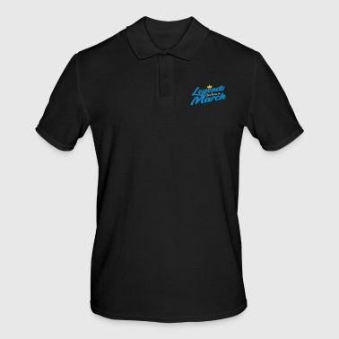 Legends Are Born In March - Men's Polo Shirt