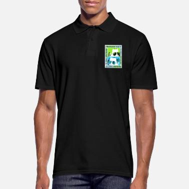 Global Global Warming or Global Greening - Men's Polo Shirt