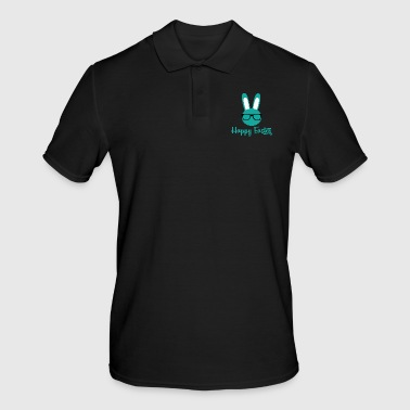 Easter / Easter bunny: Happy Easter - Men's Polo Shirt