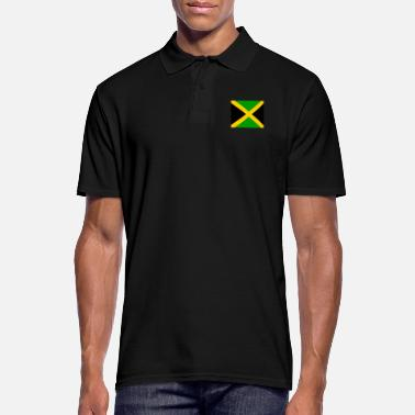 Jm Flag of Jamaica (jm) - Men's Polo Shirt