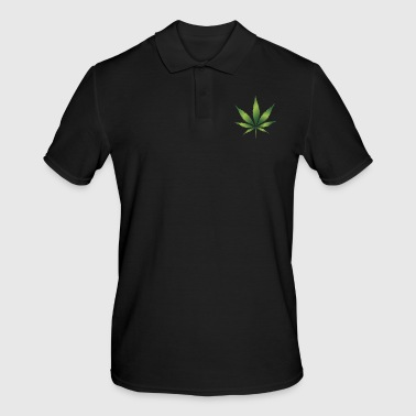 cannabis - Poloskjorte for menn