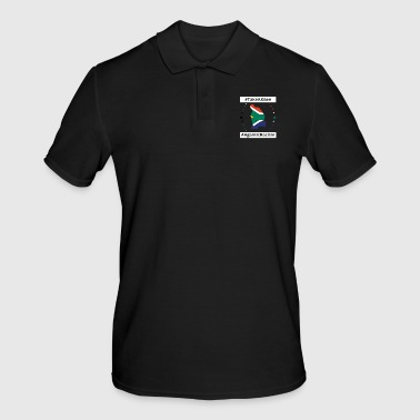 South take a knee football South Africa png - Men's Polo Shirt