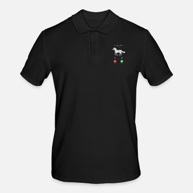 Trotter My Russian Trotter is calling on horse shirt gift - Men's Polo Shirt