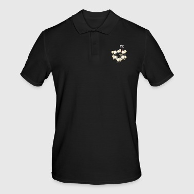 black sheep sheep gift - Men's Polo Shirt