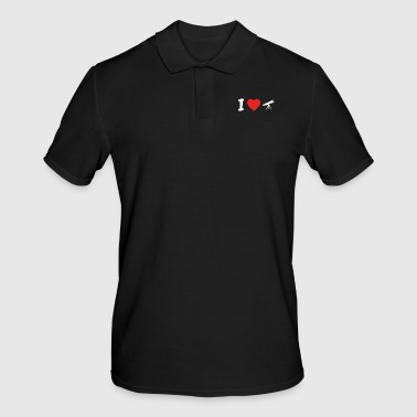 I love astronomy astronomy png - Men's Polo Shirt