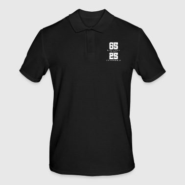 Sixty Five is Only 25 in Scrabble - Funny Scrabble - Men's Polo Shirt