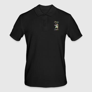 Happy Easter Dabbing Easter Bunny Easter Bunny - Men's Polo Shirt