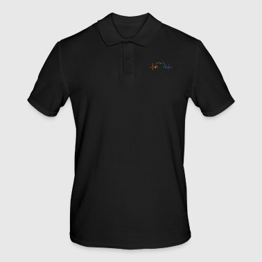 Pride LGBT Gay Gay Lesbian Lesbian Fun Support Pride - Men's Polo Shirt
