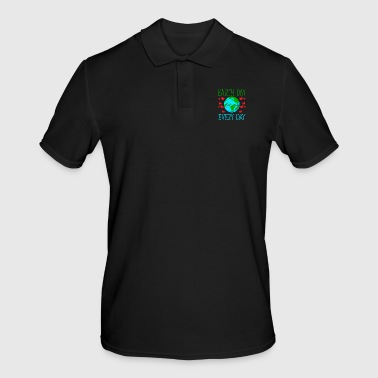 Earth Day Every Day - Männer Poloshirt