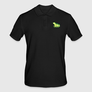 Frog nature forest toad moon wolf forest animals - Men's Polo Shirt