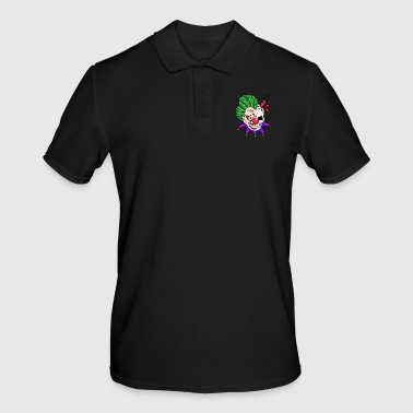 Scary clown awesome clown - Men's Polo Shirt