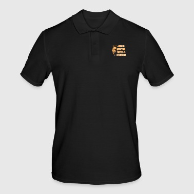 cougar shirt - Men's Polo Shirt