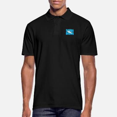 Scuba Scuba Diving Gift idea - Men's Polo Shirt