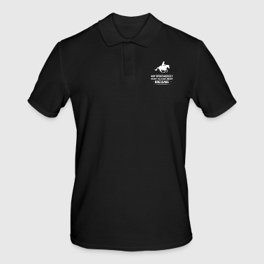Riding - Riding on a horse - Horse dressage - Men's Polo Shirt