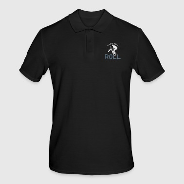 So I ride a Christmas present bike - Men's Polo Shirt