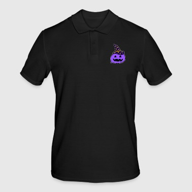 Cartoon heks - Mannen poloshirt