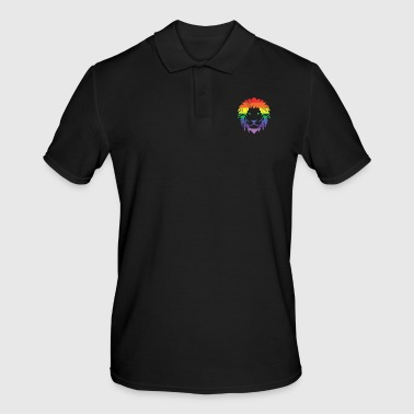 Démonstration CSD Rainbow Lion Gift Pride - Polo Homme