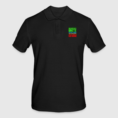 Embarrassing Introvert Unite we are here, we are unfit - Men's Polo Shirt
