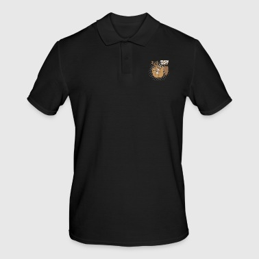 Fuck Off FUCK DIET Sloth Funny weight loss animal Keto diet - Men's Polo Shirt