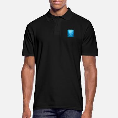 Just keep swimming design. - Men's Polo Shirt