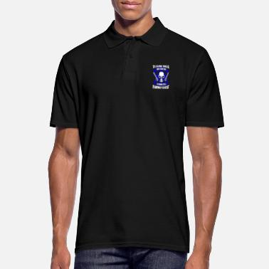 Family Crest Family Crest - Blue Line - EN - Men's Polo Shirt