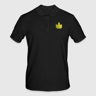 Maple leaf - maple in autumn - Men's Polo Shirt