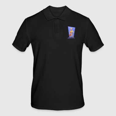 origami paper plane paper airplane28 - Men's Polo Shirt