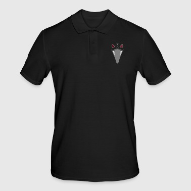 Snake with red eyes and fangs gift - Men's Polo Shirt