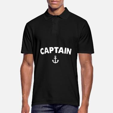 Capitaine capitaine - Polo Homme