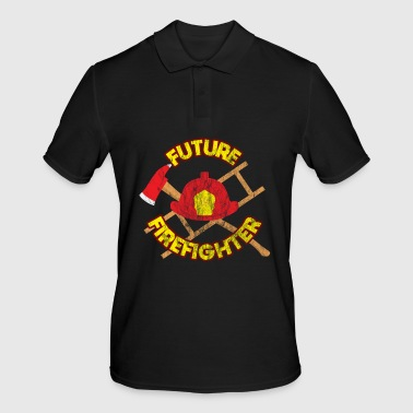Hero Future firefighter job work gift - Men's Polo Shirt