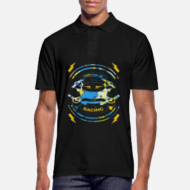 Record Spreadshirt T-Shirt | Drone pilot drone race - Men's Polo Shirt