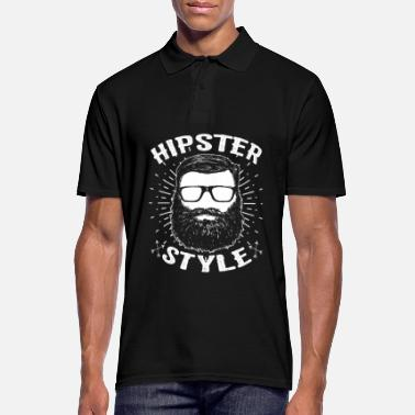 Hipster Hipsters hipster - Men's Polo Shirt