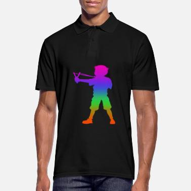 Adrenalina Slingshot Rainbow Silhuette - Polo uomo