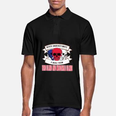 Travel Tourism Never underestimate anyone from McDonald Islands - Men's Polo Shirt
