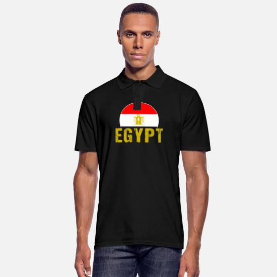 Patriot Polo Shirts - Egypt - Men's Polo Shirt black