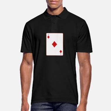 Cards poker card - Poloskjorte for menn