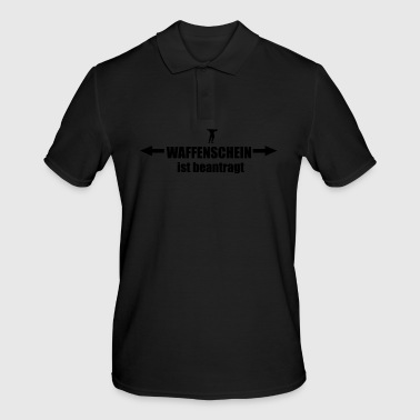 firearms license is requested - Men's Polo Shirt